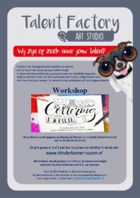 Flyer Herwijnen Art Studio